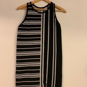 Athleta High Neck Ribbed Racerback Tank Top
